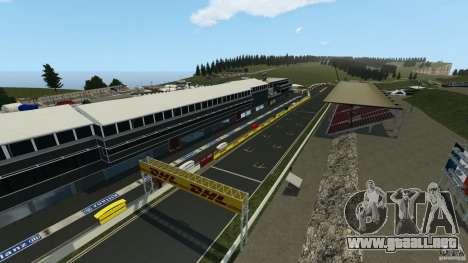 SPA Francorchamps [Beta] para GTA 4 segundos de pantalla