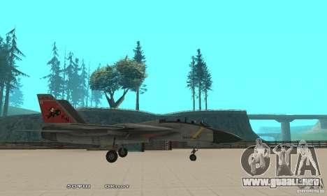 F14W Super Weirdest Tomcat Skin 2 para GTA San Andreas left