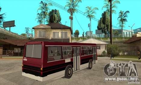 LAZ-4202 para la visión correcta GTA San Andreas