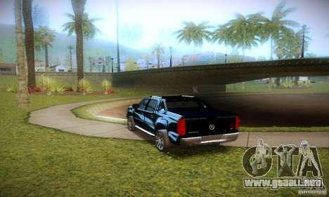 Cadillac Escalade Ext para GTA San Andreas vista hacia atrás
