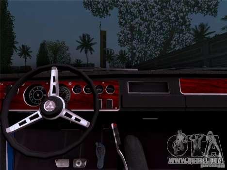 Dodge Coronet Super Bee v2 para GTA San Andreas vista posterior izquierda