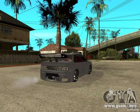MCC VAZ 2115 para GTA San Andreas vista posterior izquierda
