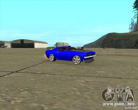 Plymouth Hemi Cuda de NFS Carbon para GTA San Andreas left