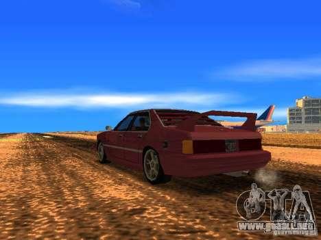 Sentrel Mini Tuning para GTA San Andreas left