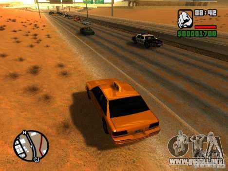 Tormenta de arena para GTA San Andreas tercera pantalla