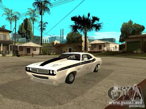 Dodge Challenger Speed 1971 para GTA San Andreas