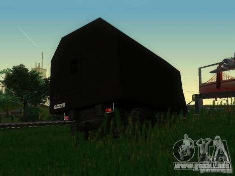 KrAZ-254 para la visión correcta GTA San Andreas