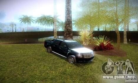Cadillac Escalade Ext para visión interna GTA San Andreas