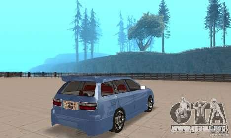 Toyota Carina 1996 para GTA San Andreas left