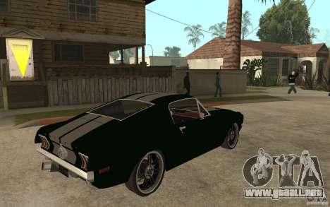 Ford Mustang TOKYO DRIFT para la visión correcta GTA San Andreas