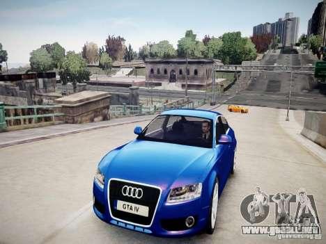 Audi A5 Sportback para GTA 4 visión correcta