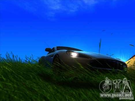 Aston Martin Virage 2011 Final para la visión correcta GTA San Andreas