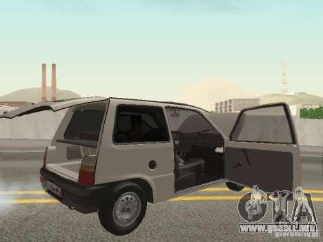 Proteína de Oka VAZ 1111 para GTA San Andreas vista hacia atrás