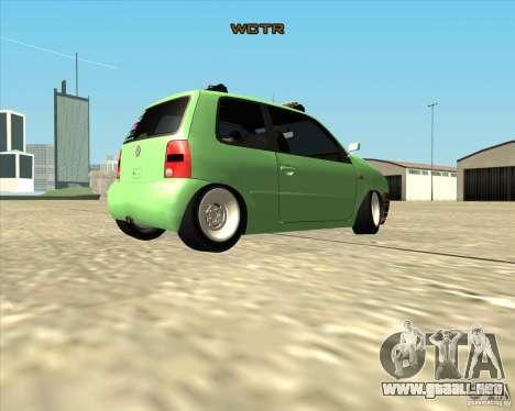 Volkswagen Lupo Hellaflush para la visión correcta GTA San Andreas