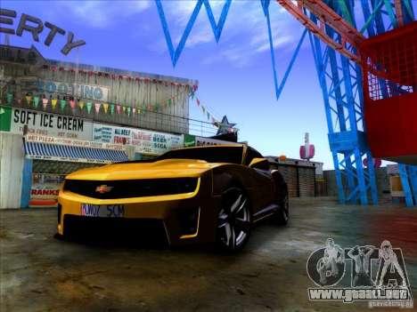Realistic Graphics HD 2.0 para GTA San Andreas segunda pantalla