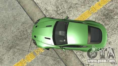Aston Martin V8 Vantage N400 para GTA 4 visión correcta