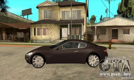Maserati Gran Turismo para GTA San Andreas left