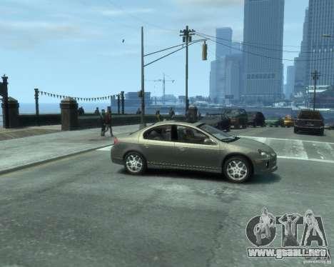 Dodge Neon 02 SRT4 para GTA 4 visión correcta