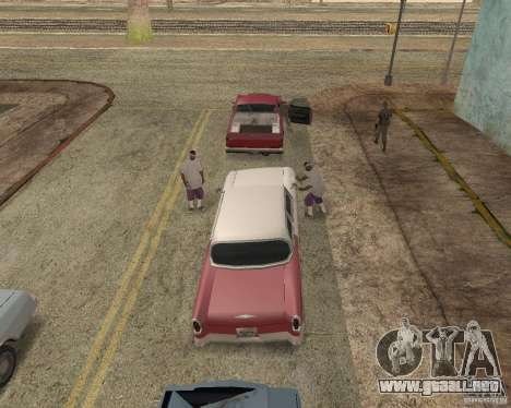 More Hostile Gangs 1.0 para GTA San Andreas segunda pantalla