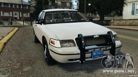 Ford Crown Victoria Police Unit [ELS] para GTA 4