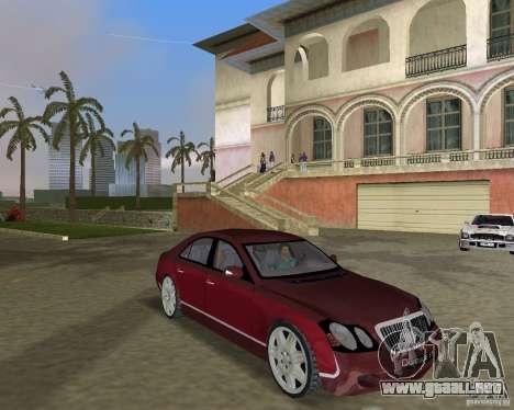Maybach 57 para GTA Vice City