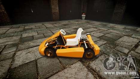 Karting para GTA 4 vista hacia atrás