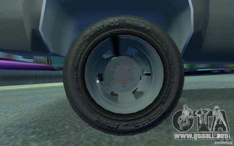Chevrolet Silverado para GTA 4 vista interior