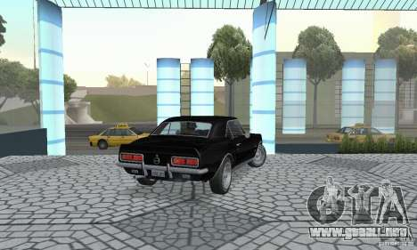 Chevrolet Camaro RSSS 1967 para GTA San Andreas left
