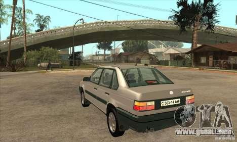 Volkswagen Passat B3 para GTA San Andreas vista posterior izquierda