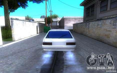 ВАЗ 2114 LT para GTA San Andreas vista posterior izquierda