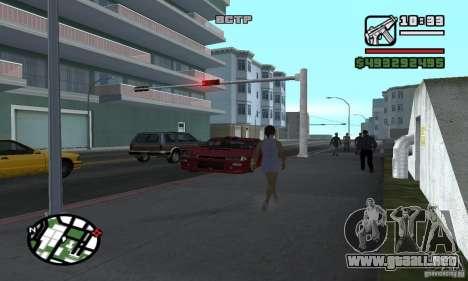 Arreglar el Auto para GTA San Andreas quinta pantalla