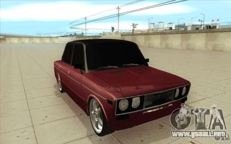 Lada 2106 Vaz para GTA San Andreas vista hacia atrás