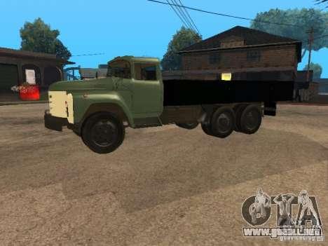 ZIL 133 para GTA San Andreas left