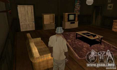 GTA SA Enterable Buildings Mod para GTA San Andreas octavo de pantalla