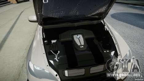 BMW X5 Experience Version 2009 Wheels 223M para GTA 4 vista hacia atrás