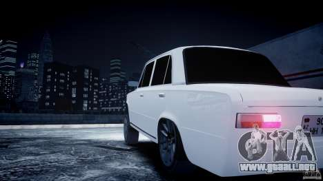 VAZ 2101 Avtosh estilo para GTA 4 vista hacia atrás
