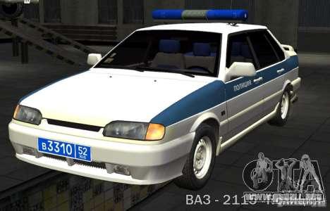 VAZ 2115 PPP policía para GTA San Andreas