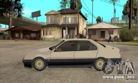 Alfa Romeo 164 para vista lateral GTA San Andreas