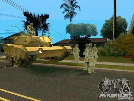 Camuflaje electrónico Morpeh para GTA San Andreas tercera pantalla