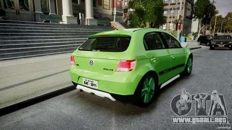 Volkswagen Gol Rallye 2012 v2.0 para GTA 4 vista lateral