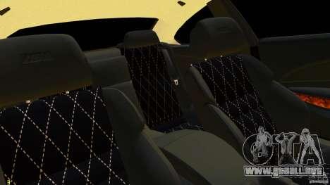 BMW M6 2010 para GTA 4 vista hacia atrás