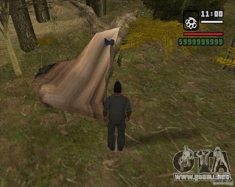 Casa Hunter v3.0 Final para GTA San Andreas sucesivamente de pantalla