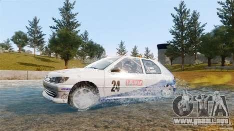 Peugeot 306 Gr. N Rally para GTA 4 visión correcta