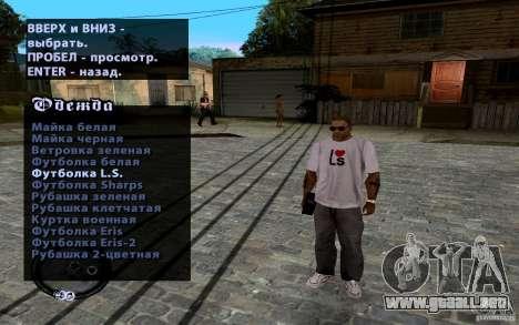 Nuevo CJ para GTA San Andreas quinta pantalla