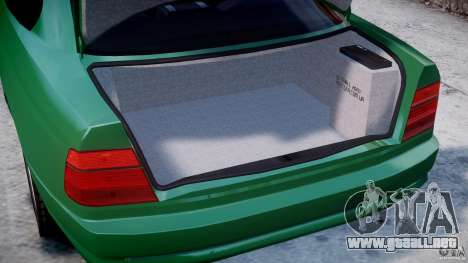 BMW 850i E31 1989-1994 para GTA 4 vista lateral