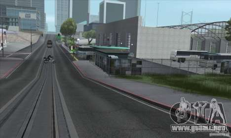 BUSmod para GTA San Andreas tercera pantalla