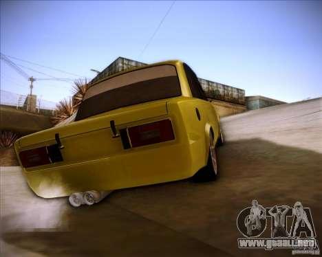 2106 VAZ deriva para GTA San Andreas left