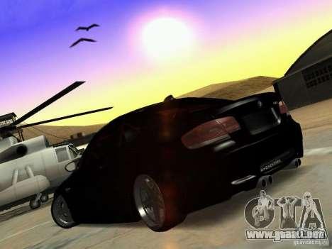 BMW M3 E92 Drift para la visión correcta GTA San Andreas