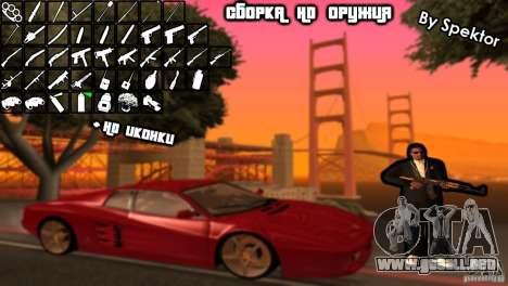 Asamblea de HD para GTA San Andreas