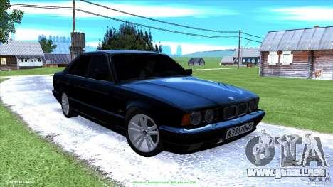 BMW E34 V1.0 para GTA San Andreas interior